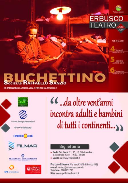 Immagine Evento Buchettino – evento speciale della rassegna Erbusco Teatro 2018-2019