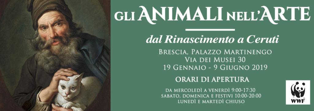 Immagine Evento Gli animali nell'arte. Dal Rinascimento a Ceruti