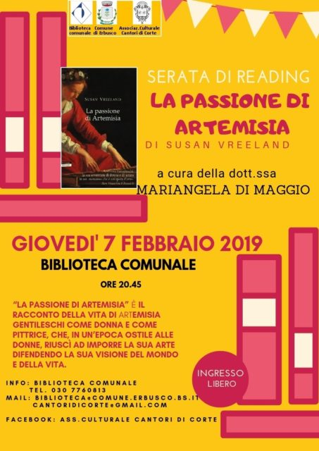 Immagine Evento Serata di reading