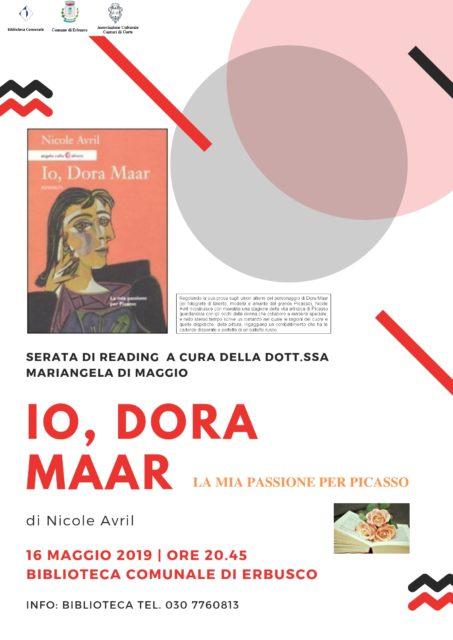 Immagine Evento Reading: Io, Dora Maar. La mia passione per Picasso