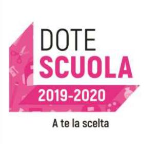 Immagine Notizia Dote scuola 2019/2020 a te la scelta