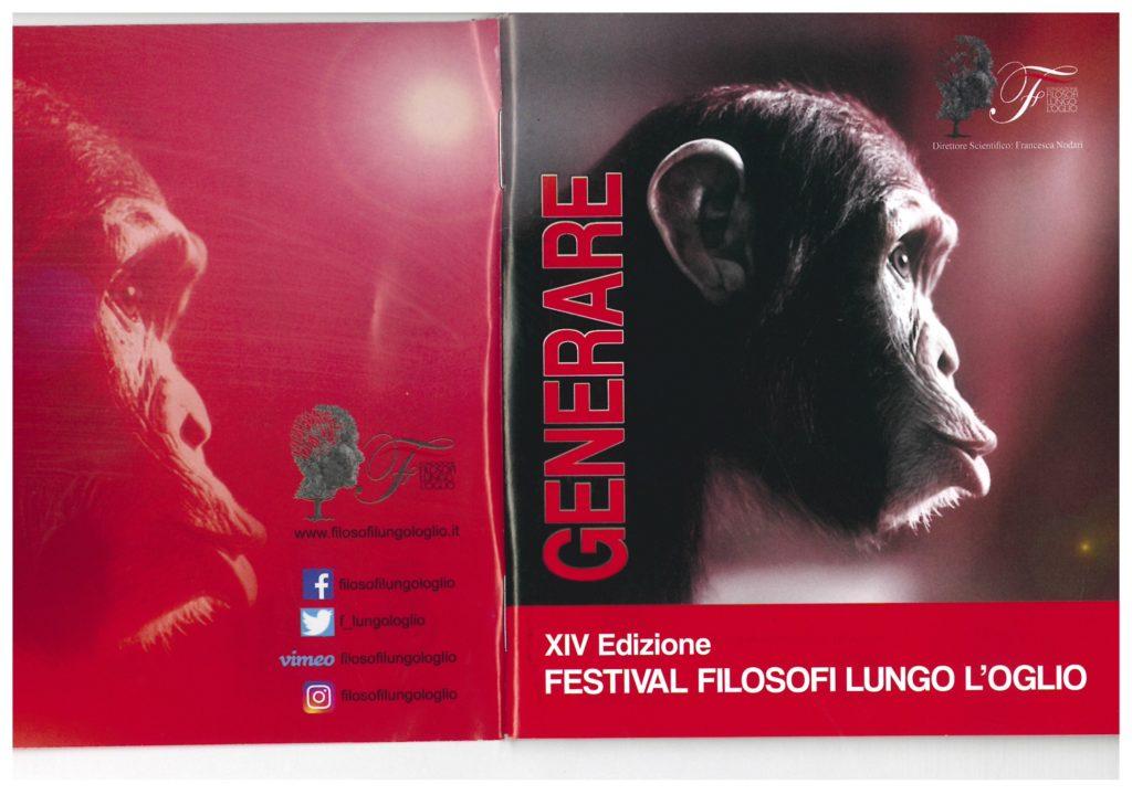 Immagine Evento GENERARE-XIV EDIZIONE FESTIVAL FILOSOFI LUNGO L'OGLIO