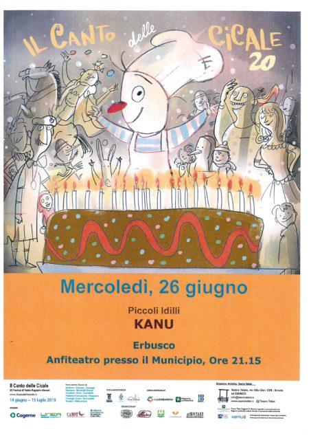 Immagine Evento Il canto delle cicale- Kanu