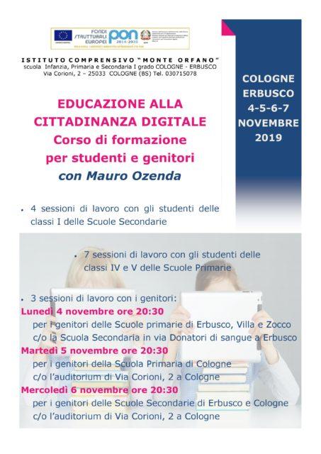Immagine Notizia EDUCAZIONE ALLA CITTADINANZA DIGITALE