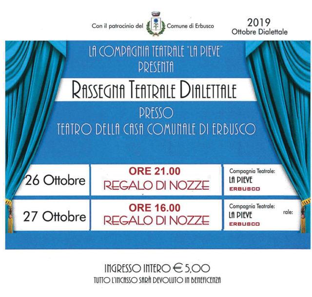 Immagine Evento Rassegna Teatrale Dialettale