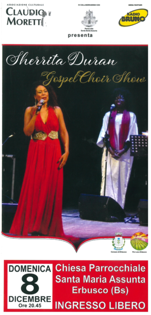 Immagine Evento SHERRITA DURAN GOSPEL CHOIR SHOW