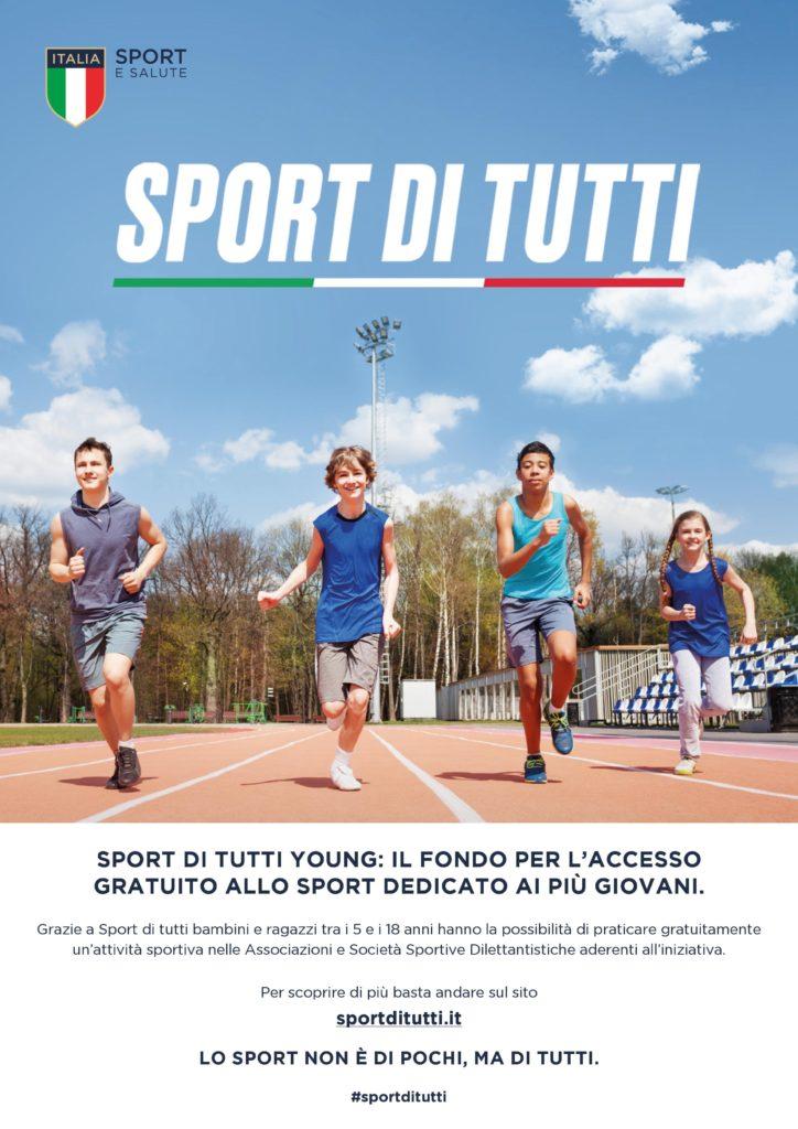 Immagine Notizia Sport di tutti Young