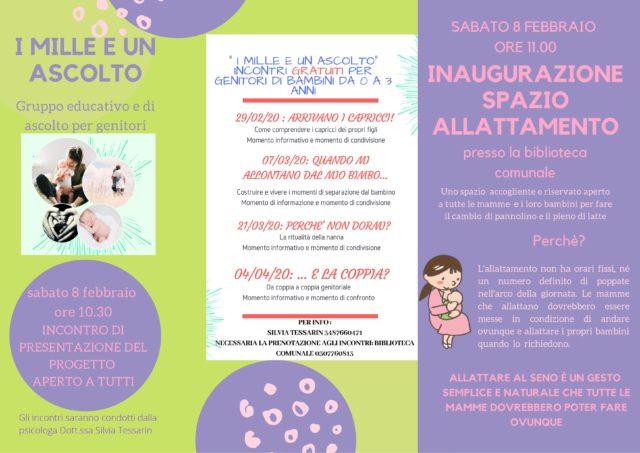 Immagine Evento Inaugurazione spazio allattamento