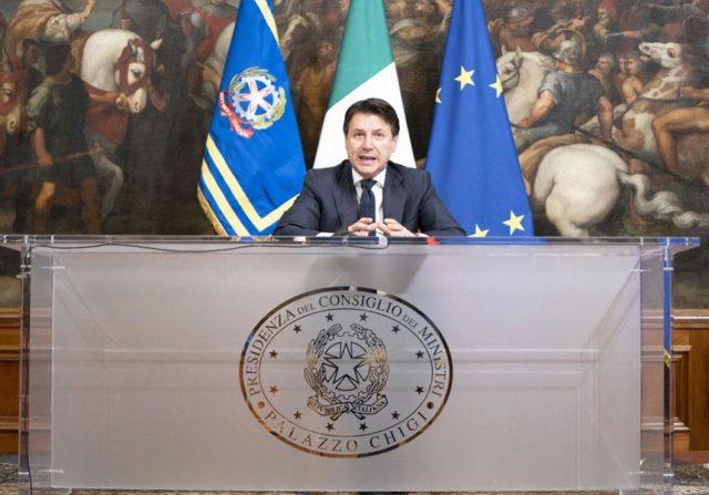 Immagine Notizia Dichiarazioni del Presidente Conte del 21/03/2020