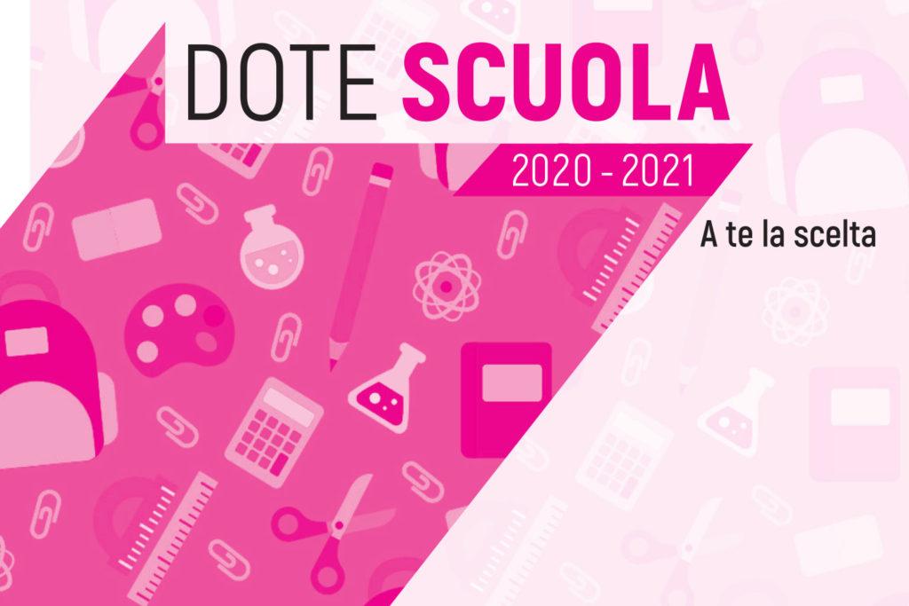 Immagine Notizia DOTE SCUOLA 2020-2021