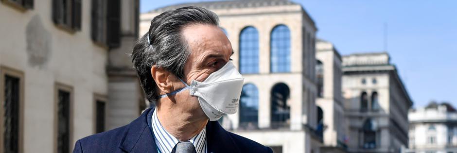 Immagine Notizia Distribuzione gratuita delle mascherine Regione Lombardia