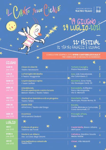 """Immagine Evento Calendario teatro telaio """"Il Canto delle Cicale"""""""