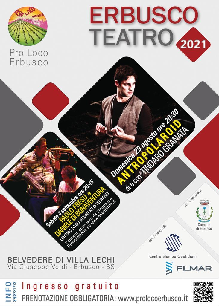 Immagine Evento Eventi in programma mese agosto e settembre