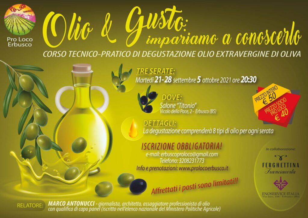 Immagine Evento CORSO TECNICO-PRATICO DI DEGUSTAZIONE OLIO EXTRAVERGINE DI OLIVA